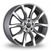 MAK Koln Silver Alloy Wheels
