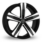 MAK Stone 5 Black Mirror Alloy Wheels