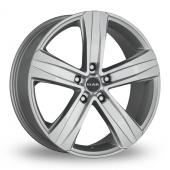 MAK Stone 5 Silver Alloy Wheels
