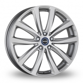 MAK Watt Silver Alloy Wheels