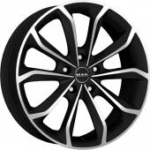 MAK Xenon Ice Black Alloy Wheels
