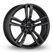 MAK Luft Matt Black Alloy Wheels