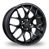 Image for Fox_Racing MS007 Matt_Black Alloy Wheels
