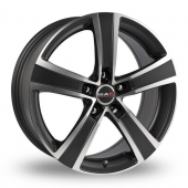 MAK F5 Ice Superdark Alloy Wheels