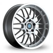 Beyern Mesh Silver Alloy Wheels