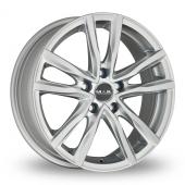 MAK Milano Silver Alloy Wheels
