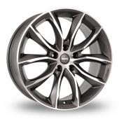 Momo Screamjet Evo Anthracite Polished Alloy Wheels