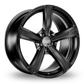 Image for OZ_Racing Montecarlo_HLT Matt_Black Alloy Wheels