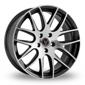 Image for Wolfrace Munich Matt_Black Alloy Wheels