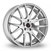 Image for Wolfrace Munich Silver_Polished Alloy Wheels