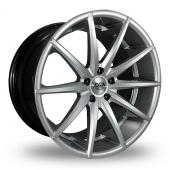 AVA New York Hyper Silver Alloy Wheels