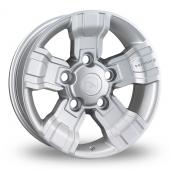 Hawke Osprey Silver Alloy Wheels