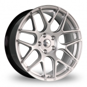 Dare River R-3 Hyper Silver Alloy Wheels