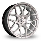 Image for Dare River_R-3_5x120_Wider_Rear Hyper_Silver Alloy Wheels