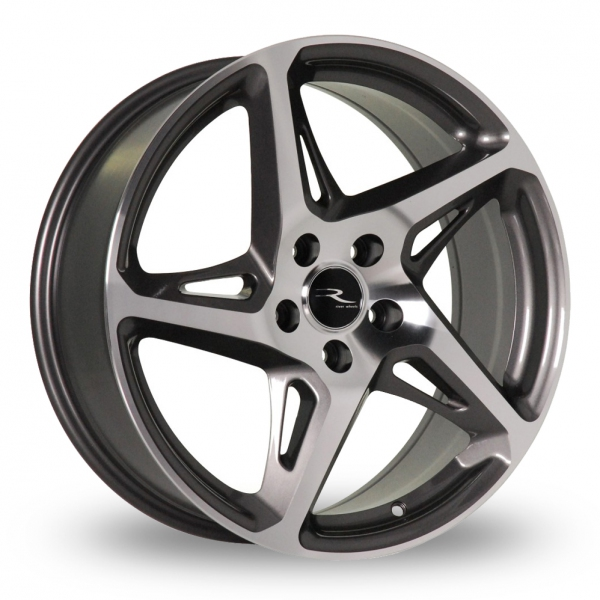 Zoom Dare River_R-4 Gun_Metal_Polished Alloys