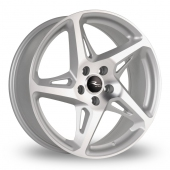 Dare River R-4 Silver Polished Alloy Wheels