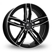 Rosso RR8 Matt Black Alloy Wheels