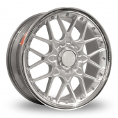 BBS RSII Silver Alloy Wheels