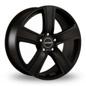 Radius R12 Matt Black Alloy Wheels