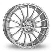 Calibre Rapide Silver Alloy Wheels