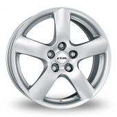 Rial Oslo Silver Alloy Wheels