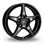 Rial U1 Matt Black Alloy Wheels