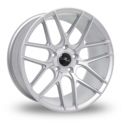 Dare R-7 Matt Silver Tech Alloy Wheels