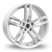 Rosso RR8 Silver Alloy Wheels