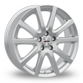 Autec Skandic Silver Alloy Wheels