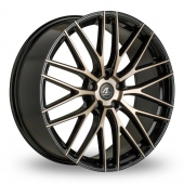 AC Wheels Syclone Bronze Polished Alloy Wheels