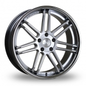 Judd T104 Silver Alloy Wheels