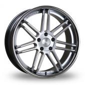Judd T104 Silver Alloy Wheels
