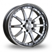 Judd T110 Silver Alloy Wheels