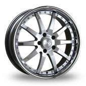 Judd T110 Silver Alloy Wheels