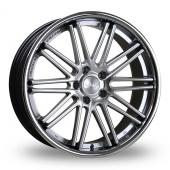Judd T116 Silver Alloy Wheels