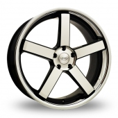 Judd T137 Black Polished Alloy Wheels