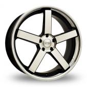 Judd T137 Black Polished Alloy Wheels