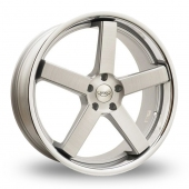 Judd T137 Silver Alloy Wheels