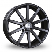 Judd T202 Matt Gun Metal Alloy Wheels