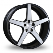 Judd T203 Black Polished Alloy Wheels