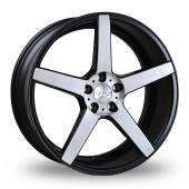Judd T203 Black Polished Alloy Wheels