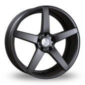 Judd T203 Matt Gun Metal Alloy Wheels