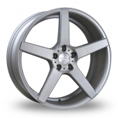 Judd T203 Silver Alloy Wheels