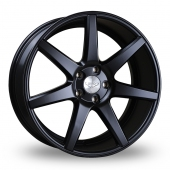 Judd T204 Matt Black Alloy Wheels