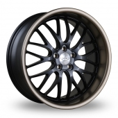 Judd T213 Black Bronze Lip Alloy Wheels