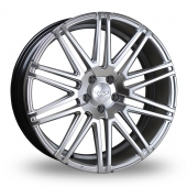 Judd T229 Hyper Silver Alloy Wheels