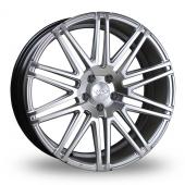 Judd T229 Hyper Silver Alloy Wheels