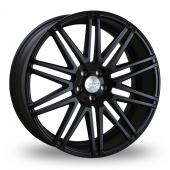 Judd T229 Satin Black Alloy Wheels