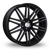 Judd T229 Satin Black Alloy Wheels