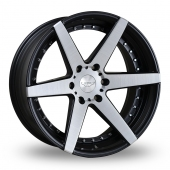 Judd T306 Black Polished Alloy Wheels
